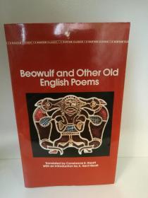 叙事长诗 贝奥武夫 Beowulf and Other Old English Poems (Bantam Classics 1983年版)(诗歌)英文版
