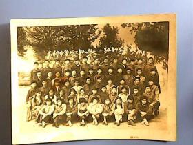 胶南县大村中学八一级初三·二班师生合影