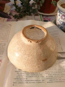 明清时期哥窑瓷碗,著名的百极碎,开片瓷,真正的老东西。共两个,每个120元