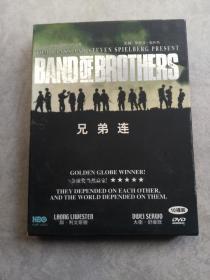 光盘DVD【兄弟连,虎踞钟山】基本上全新无划痕
