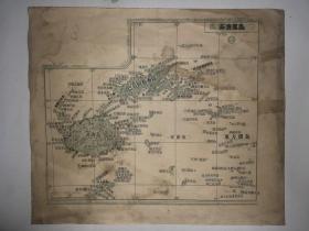 斐济(菲济)群岛地图
