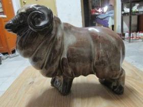宜昌彩陶羊