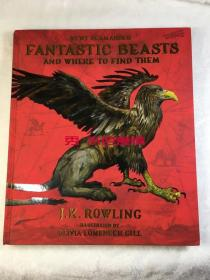 订购神奇的动物在哪里 绘本 美版 Fantastic Beasts and Where to Find Them