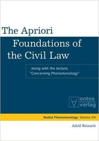 民法的先天基础  The Apriori Foundations of the Civil Law: Along with the lecture
