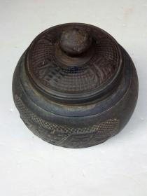 威振雄风老紫沙围棋盒(有名款)一只