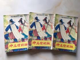 《倚天屠龙记续集》娇龙惊蛇录(上、中、下三册全)