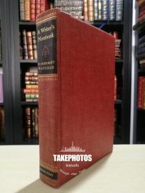 Maugham 毛姆亲笔签名 限量版 1000 册 A Writers Note Book 《作家笔记》1949 年初版 编号 501