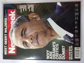 Newsweek 新闻周刊 2012年 1月23日 NO.04 原版外文英文期刊