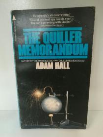 The Quiller Memorandum by Adam Hall (推理小说)英文原版书
