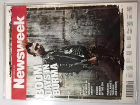 Newsweek 新闻周刊 2012年 9月24日 NO.39 原版外文英文期刊
