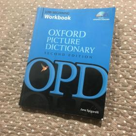 The Oxford Picture Dictionary Low Beginning Workbook 牛津图片词典 第二版 入门-低级 附CD 英文原版