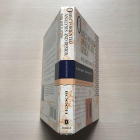 英文原版 Object-Oriented Analysis and Design with Applications (2nd Edition)内页有一页脱落,不缺页