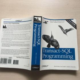 英文原版 Transact-SQL Programming(私藏,内品佳)