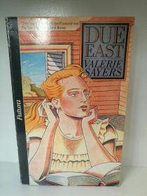 Due East by Valerie Sayers 英文原版书