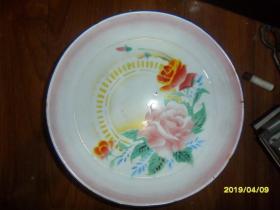 红花-太阳牌搪瓷盘