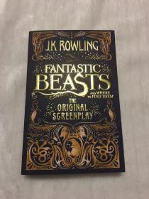 订购神奇的动物在哪里平装 Fantastic Beasts and Where to Find Them: The Original Screenplay