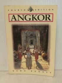 吴哥:建筑、历史与文明 Angkor by Dawn Rooney(文明遗产)英文原版书
