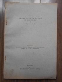 民国版【1937年,英文版,华北蟹类之概况】沈嘉瑞