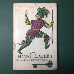 滑稽家汉斯,克劳厄尔特,德文原版,