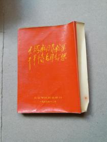 大海航行靠舵手干革命靠毛泽东思想歌曲