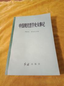 中国现代哲学史大事记