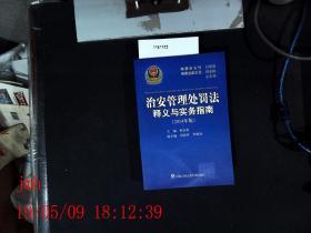 治安管理处罚释义与实务指南