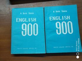 english  900 1-3 4-6(2册合售)