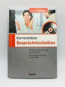 Karrierefaktor Gesprächstechniken. Mit CD-ROM für Windows ab 95 德文原版《职业因素对话技巧:使用适用于Windows 95+的CD-ROM》