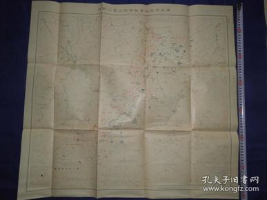 民国时期,日本在奉天附进作战地图,当时的河流,村庄、道路、距离、海拔、等等信息标注的很详细,可见当时日军作战之精细。