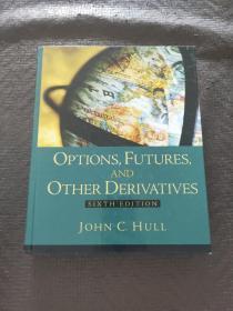 OPTIONS,FUTURES,AND OTHER DERIVATIVES SIXTH EDITION(期权,期货和其它衍生工具第六版)(附光盘)内有笔记划线 书品如图 避免争议