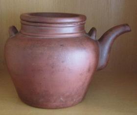 宜兴紫砂二号茶壶