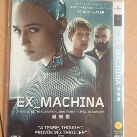 [电影]《机械姬》第88届奥斯卡最佳视觉效果奖(1DVD)