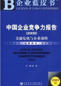 中国企业竞争力报告(2009)