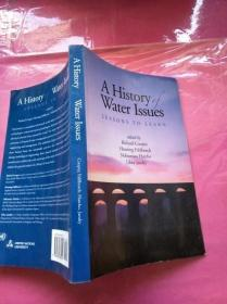 A History Water Issues历史水问题