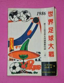 世界足球大战:第十三届世界足球锦标赛特辑(上册)