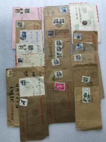 九十年代实寄封二十一封