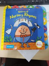Treasury of Nursery Rhymes 韻文歌謠 附CD 英文原版繪本