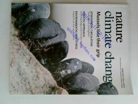 nature climate change 2013/06 外文原版过期自然杂志