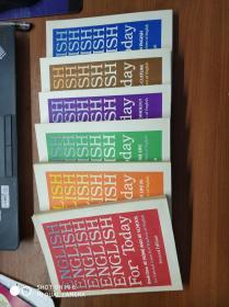 ENGLISH FORTODAY BOOK 今日英语  全1-6册
