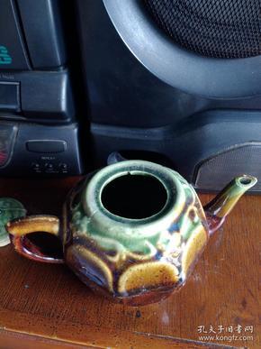 酱釉小壶.