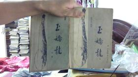 玉娇龙(上下) 1985年 1版1印,多插图(大32开,85品)/租屋中-架北3横-70
