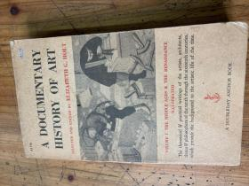 3236:《A DOCUMENTARY HISTORY OF ART》Volume 1  艺术文献史