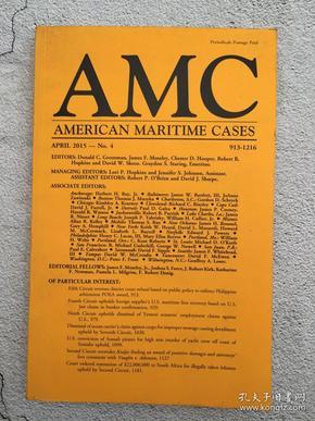 AMC AMERICAN MARITIME CASES