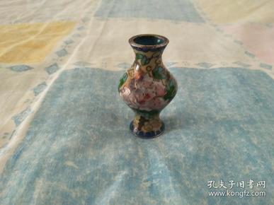 清代.铜胎掐丝珐琅葫芦瓶