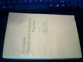 【正版】Pyrolysis:Theory and Industrial Practice(热解《理论和工业实践》)英文