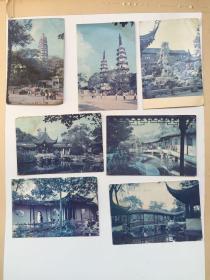 苏州明信片 七张