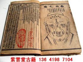 清;神相水镜集[1-4]全   #4719