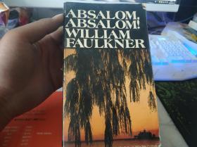 Absalom, Absalom(押沙龙,押沙龙)威廉福克纳.英文原版