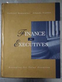 英文原版书 Finance for Executives     Gabriel Hawawini  9780538853958