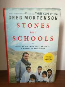 三杯茶2 石头变学校 Stones into Schools: Promoting Peace with Education in Afghanistan and Pakistan by Greg Mortenson (Viking 版)(亚洲研究)英文原版书